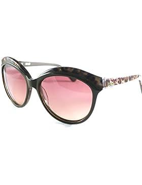 Liu Jo Damen Sonnenbrille LJ623S 210 braun/Animalprint