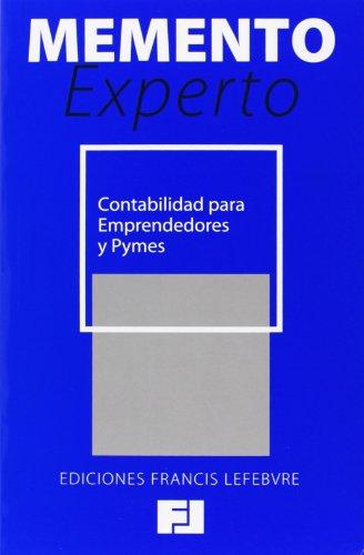 Memento Experto Contabilidad Para Emprendedores Y Pymes