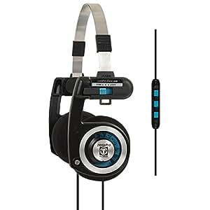 Koss Porta Pro KTC Over-Ear Headphones for iPod, iPhone, MP3 and Smartphone - Black