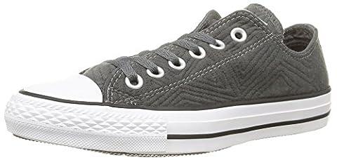 Converse Ct Jersey Quilt, Damen Hohe Sneakers, Grau (anthracite), 40 EU