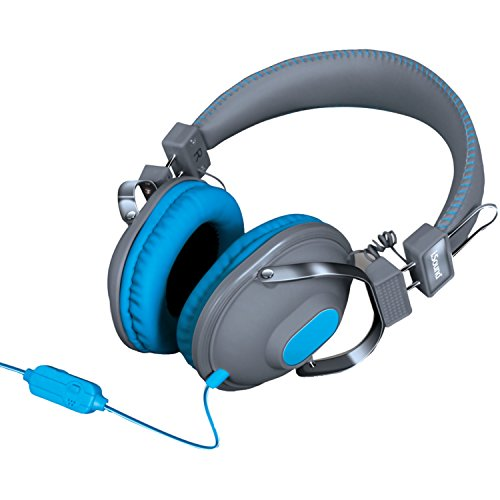 With Microphone [Gray/Blue] [Import USA]