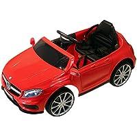 HOMCOM Coche Eléctrico para Niño 3-8 Años Automóviles Infantiles Mercedes Benz GLA con Mando a Distancia MP3 USB Carga 30kg 100x58x46cm Rojo