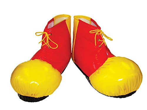 7 Clown Schuhüberzieher, One size (Kinder Halloween Clown Kostüme)