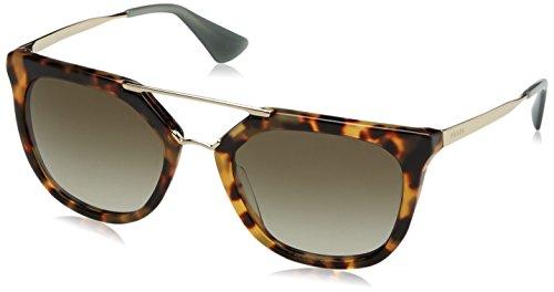Prada pr13qs 7s04m1 (54 mm), occhiali da sole donna, marrone (havanna), unica (taglia produttore: one size)
