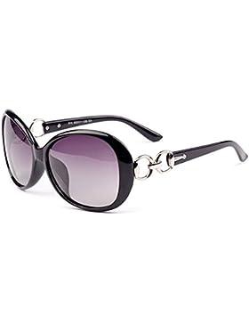 Kry Gafas de sol polarizadas para mujer, para aire libre, deportes de conducción, moda, UV400, tamaño grande, 2