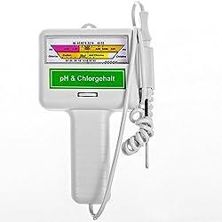 Wassertestgerät PH Chlor - Chlormessgerät Messgerät Wassertester Pool Spa Schwimmbad