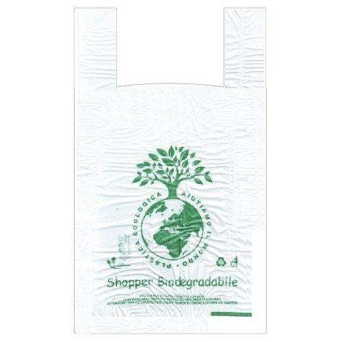 500 shopper biodegradabili e compostabili mis. maxi 30x60 gr.13