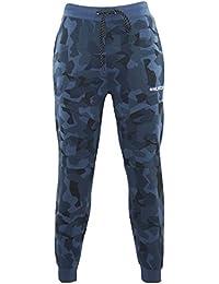 Be Jealous Mens Hutch Camouflage Pocket Elasticated Waist Pockets Trouser Bottoms Jog Pants UK Size 10-16