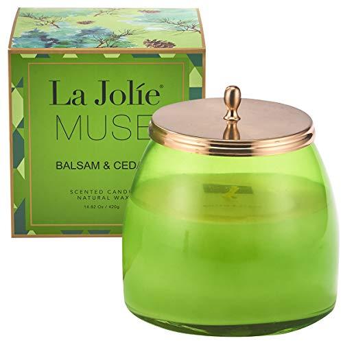 La Jolie Muse Bougies Parfumées De Jasmine Bougie De...