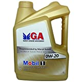 #4: Mobil 1 MGA 0W-20 Advanced Fully Synthetic Engine Oil (4L)
