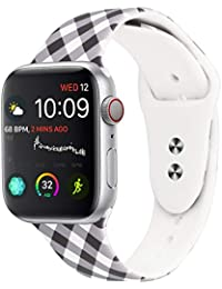 Straper Correa Apple Watch 38mm Apple Watch Series 4 40mm Silicona Suave Correas Reloj Apple Watch