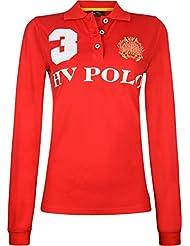 HV Polo–Polo favouritas eques LS–Polo Medium Rouge