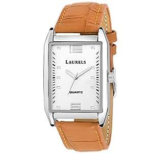 Laurels Lmw-tm-010907 Analog Silver Dial Men's Watch-Lmw-Tm-010907