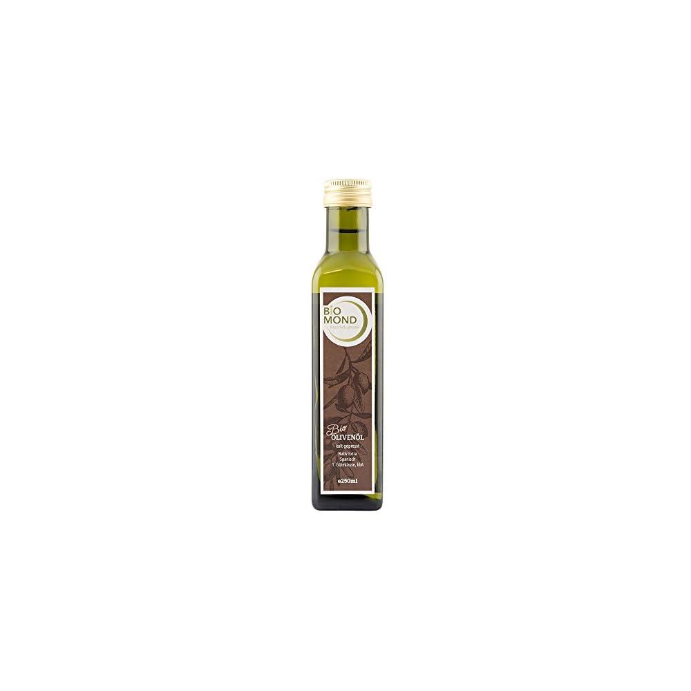 Bio Olivenl Von Biomond 250 Ml Extra Nativ Hochwertiges Gourmetl Spanien Frisch Gepresst