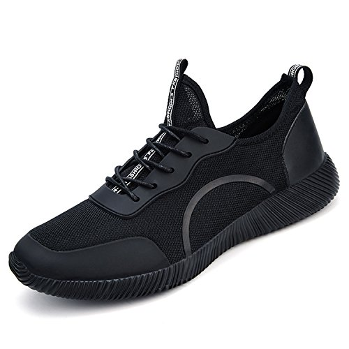 Damen Running Sportschuhe atmungsaktiv Gym Walking Schuhe Leicht Athletic Sneakers Gr. 3–10, - Black-67 - Größe: 38