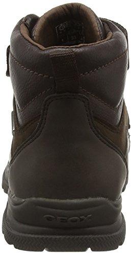 Geox Jungen Jr William B Abx A Chukka Boots Braun (COFFEE/DK BROWNC6766)