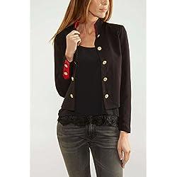 VERO MODA Women's Blazer (10164617_Black_38)