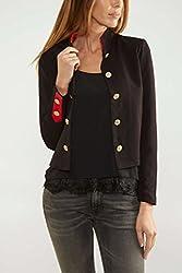 VERO MODA Womens Blazer (10164617_Black_38)