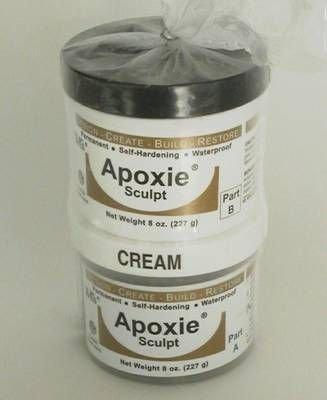 Apoxie Sculpt - 1 Lb. Naturel - Gris Clair Argile Epoxy