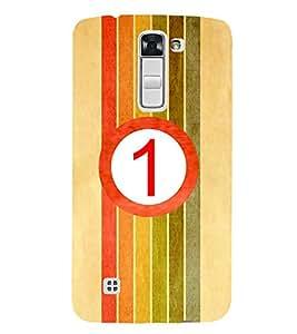 HiFi Designer Phone Back Case Cover LG K10 :: LG K10 Dual SIM :: LG K10 K420N K430DS K430DSF K430DSY ( Colorful Number 1 )