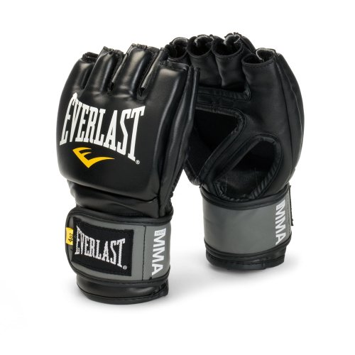 Everlast Pro Style MMA Grappling-Handschuhe, Unisex, schwarz -