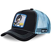 Collabs Dragon Ball Z Vegeta Trucker Gorra Hombre Negro