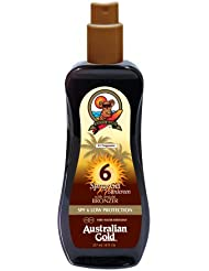 Australian Gold SPF 6 Spray Gel plus Bronzer, 1er Pack (1 x 237 ml)