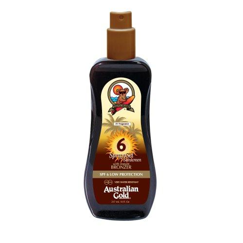 Australian Gold Spray SPF 6 bassa con protezione concia Agente 237 ml