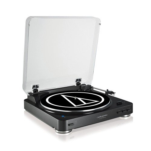 Tocadiscos Audio Technica AT-LP60BTBK Color Negro