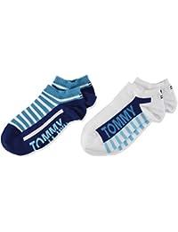 Tommy Hilfiger Calcetines, (Pack de 2) para Niños