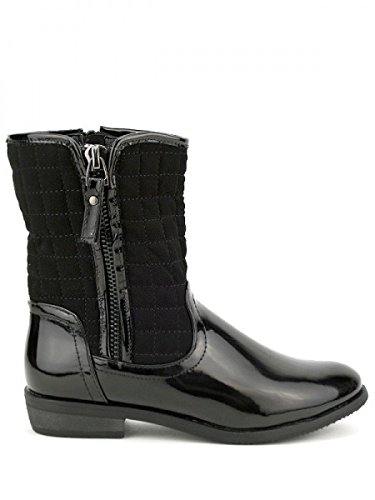 Cendriyon, Bottine de Pluie BETYONE Chaussures Femme Noir
