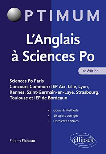 L'Anglais à Sciences Po - 6e édition par Fichaux Fabien