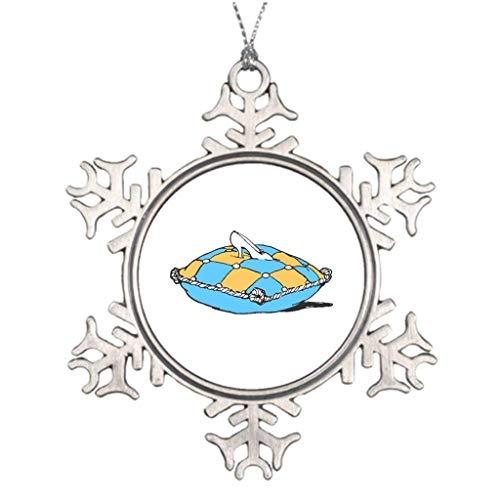 Monsety Aschenputtel auf blaugrüner und orangefarbener Ätzung Fotorahmen Weihnachten 2018 Weihnachten Schneeflocke Ornament lustig Urlaub Weihnachtsbaum Dekoration Geschenk