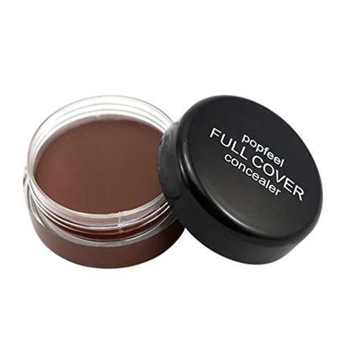 Zähler Veranstalter (Concealer, erthome Popfeel Gesicht Make-up Concealer Foundation Palette Cremig Feuchtigkeitsspendend (E))