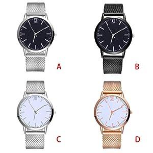MASIKI 2020 Vendita calda orologio da polso analogico al quarzo, da donna, alla moda,tavolo a maglia semplice Ginevra, stile casual (B)