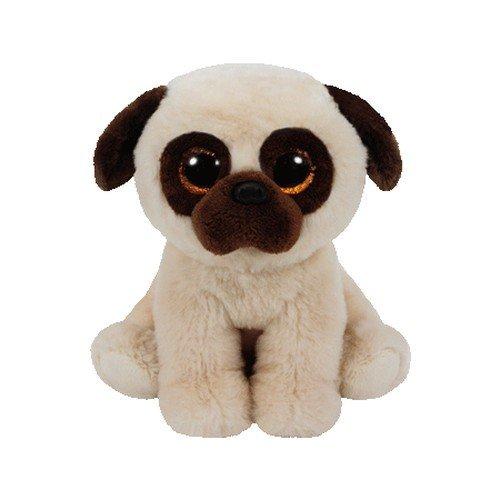 """Beanie Boo Dog - Rufus - Pug - 15cm 6"""""""