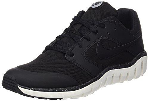 Nike Herren Flex Raid Laufschuhe Schwarz (Black/Black-Sail-Wolf Grey)