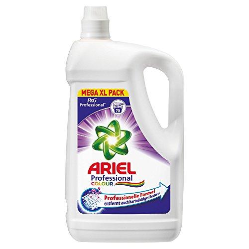 Professional Ariel Colorwaschmittel Flüssig Doppelpack 2x4,55l, 140Waschladungen