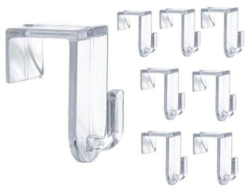 fensterrahmen deko fenster Bada Bing 8er Set Fensterhaken Türhaken Transparent Haken Für Ihre Fensterdekoration Fenster Für Jede Rahmenfarbe 93