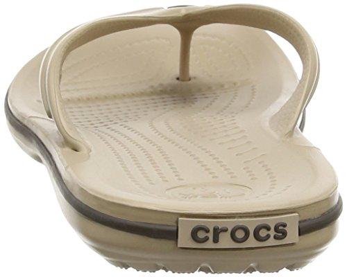 Crocs Band Flp, Tongs - Mixte adulte Beige (Tumbleweed/Espresso)