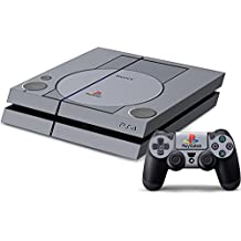 Pandaren® pleins faceplates skin sticker pour console PS4 x 1 et le manette x 2(PSone 20 années anniversaire) [Instruction dans les listes d'image]