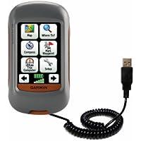 Speciale Cavo USB a Spirale per Sincronizzazione Dati e Caricamento compatibile con Garmin Dakota 10 20 Realizzato con TipExchange
