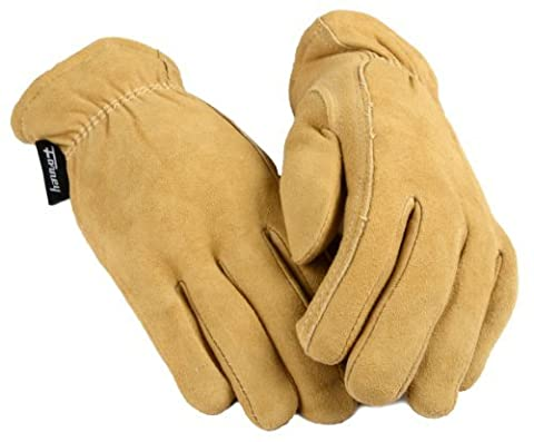 Forney 53119 Deerskin Leather Driver Suede Lined Women's Gloves, Small by Forney