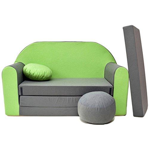 Kindersessel grün  ᐅᐅ】Kindersofa Grün – Bestseller ✓ Entspannter Alltag ✓