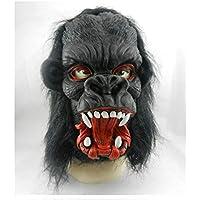 Yukun Máscara Máscara de Terror de Halloween Máscara de látex Natural de protección del Medio Ambiente