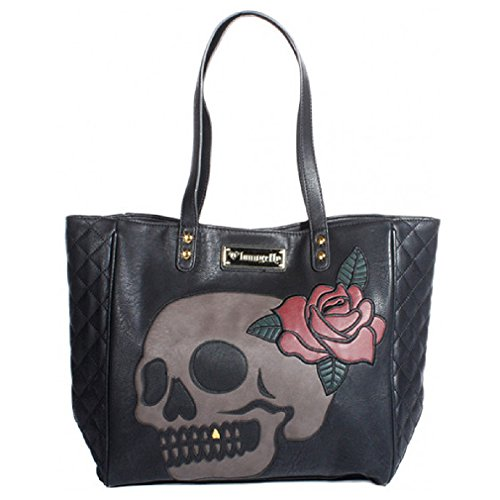 loungefly-shopper-tasche-gold-tooth-skull