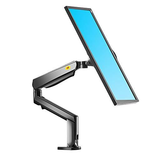 """NB North Bayou Support de Moniteur pour écran PC LCD LED Incurvée, Design Ergonomique Ressort à gaz (F90A / 22-35"""")"""