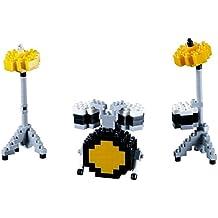 brixies 410116–Impacto juguete, 3d de puzzle, Musical Instruments, 187piezas, nivel 2de dificultad Medio, multicolor