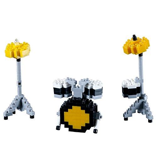 brixies-410116-schlagzeug-3d-puzzle-musical-instruments-187-teile-schwierigkeitsstufe-2-mittel-mehrf