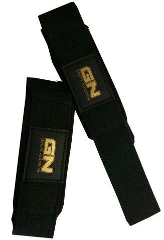 Leder Gurt Strap Pad (GN Laboratories Lifting Strap Zughilfe Heben Von Lasten Kreuzheben und Klimmzug Fitness Bodybuilding)